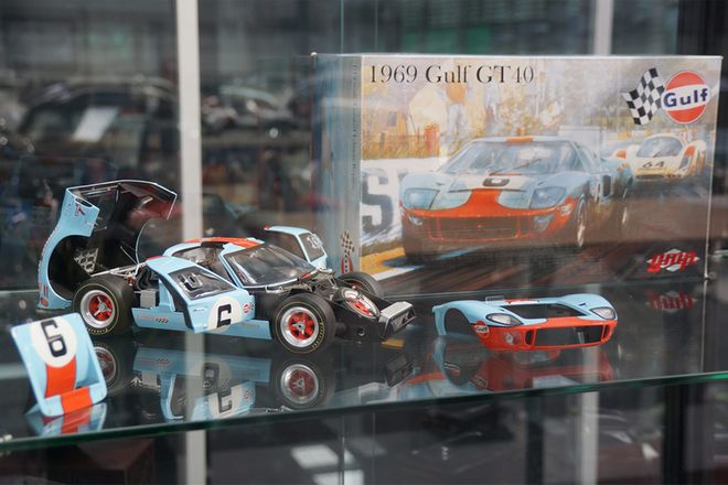 Limited Edition 1969 Ford Gulf GT40 #6, 24Hr LeMans winning car of Ickx / Oliver by GMP
