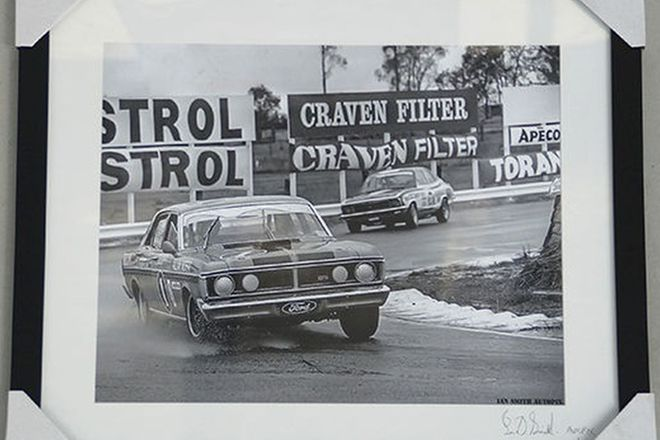 Framed Photo - Ford Falcon XYGT - By Auto Pics  (57 x 67cm)