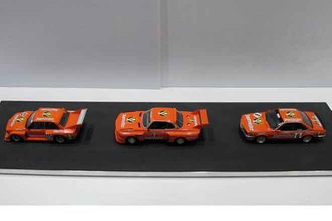 Model Cars - 3 x Jagermeister BMW Race Cars (Scale 1:24)