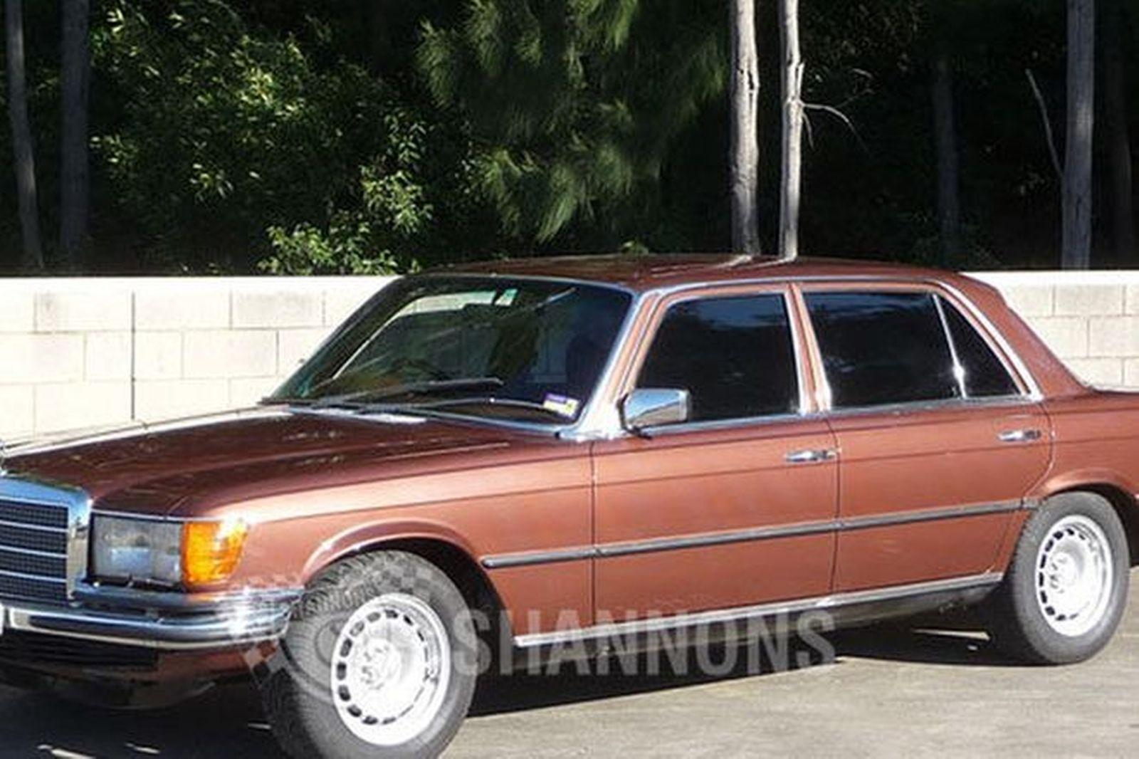 sold mercedes benz 450sel 6 9 sedan auctions lot 10 shannons. Black Bedroom Furniture Sets. Home Design Ideas