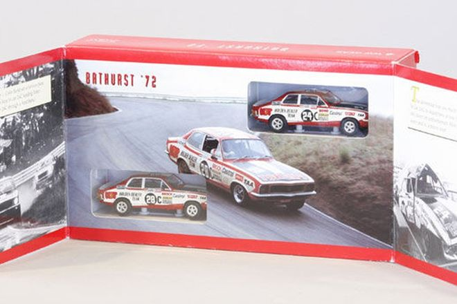 Model Cars - 2 x Bathurst 1972 Toranas by Top Gear