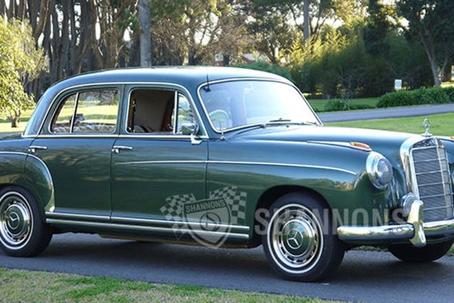 2013 shannons melbourne spring classic auction 23 09 for Mercedes benz 220 s
