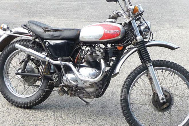 Triumph Adventurer 500cc 'Twin' Road Trail Motorcycle