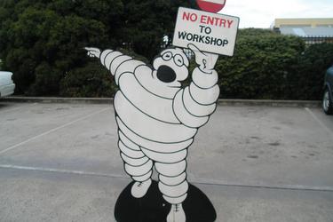 Workshop Signs - Michelin