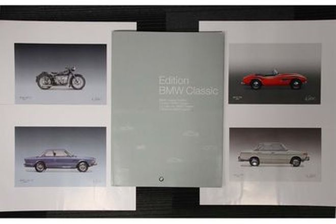 BMW Classic Edition - 12 x Limited Edition Art Prints