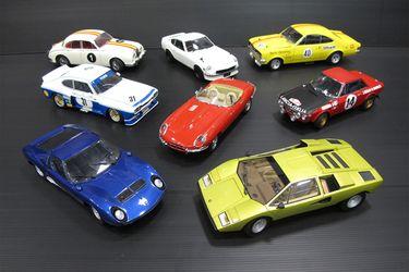 8 x Model Cars