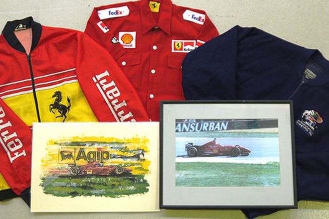 Collection of Ferrari Items