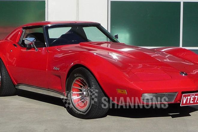Chevrolet Corvette Stingray Targa Coupe (RHD)