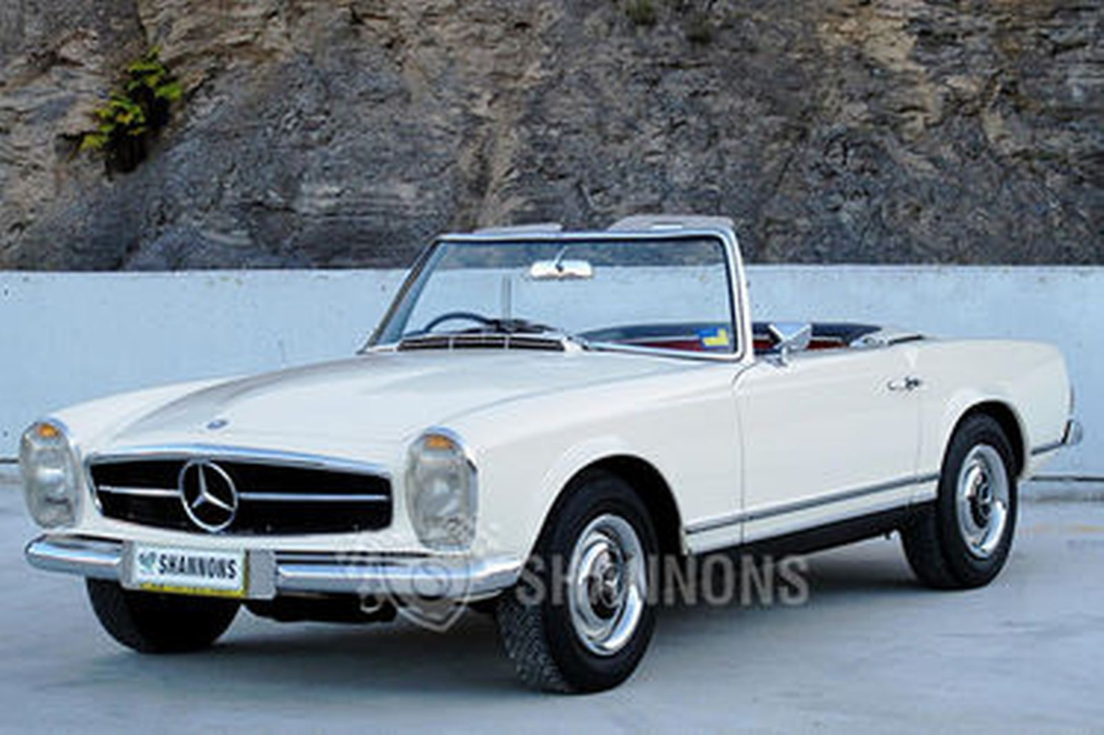 Sold Mercedes Benz 230sl Convertible Auctions Lot 26