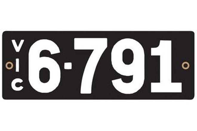 Victorian Heritage Plate '6-791'