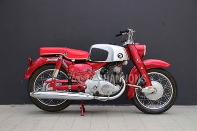 Honda CE71 Dream Super Sport 250cc Motorcycle
