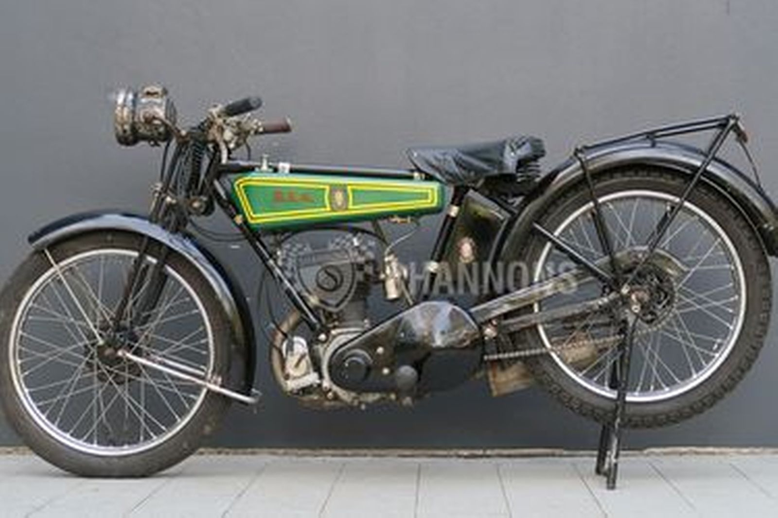BSA DeLuxe 2.49HP 250cc Motorcycle