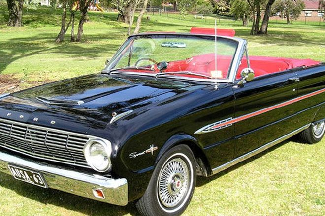 Ford Falcon Sprint V8 Convertible (RHD)