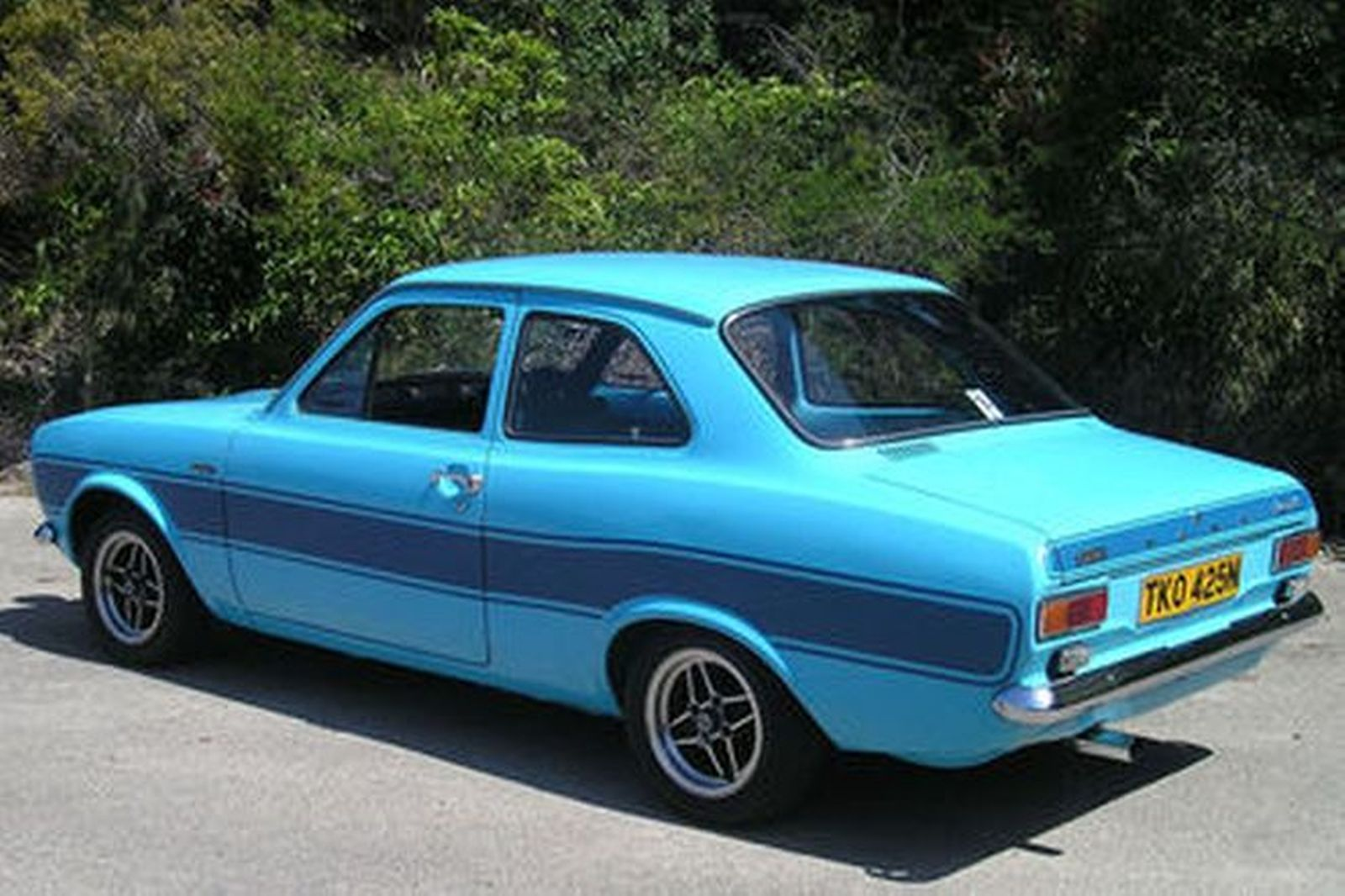 sold ford escort mk 1 rs 2000 39 prototype 39 sedan auctions. Black Bedroom Furniture Sets. Home Design Ideas