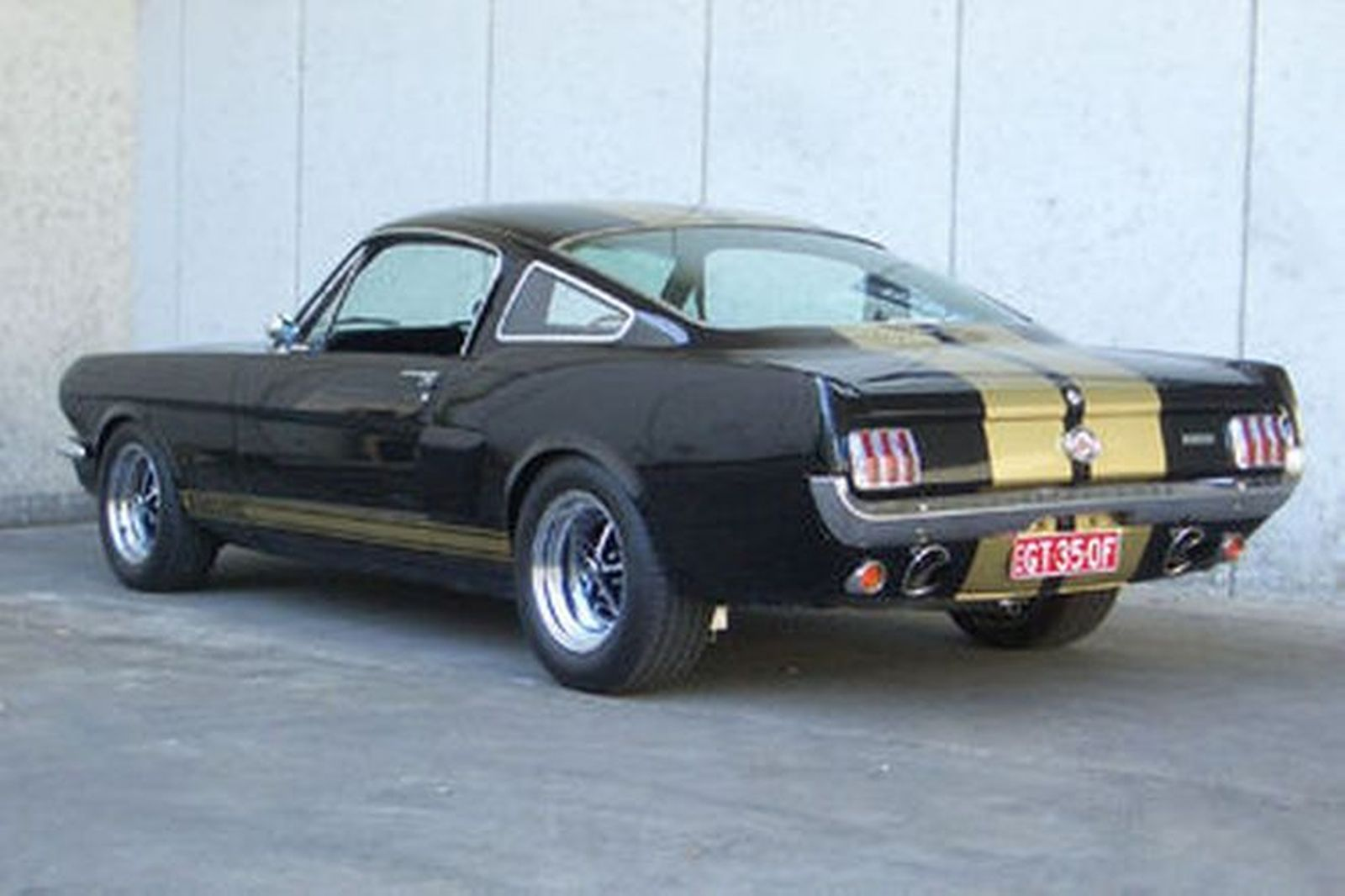 Sold Ford Mustang Gt350 Hertz Replica Fastback Auctions
