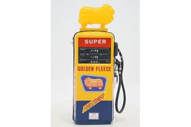 Petrol Pump - Gilbarco Salesmaker in Golden Fleece Livery in Reproduction Globe