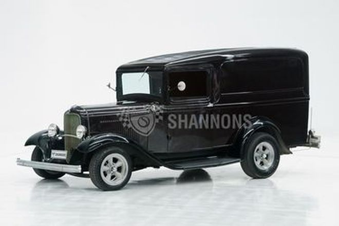 Ford Model B Panel Delivery (LHD) - Estate of the Late Harold Johansen (Dry Lake Racer)