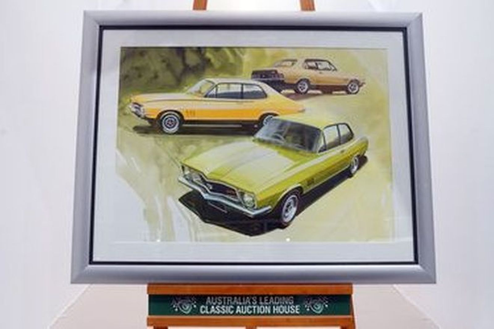 Painting - Holden Torana orignally commissioned for a jigsaw puzzle by Fredd Briggs (77x 98cm)