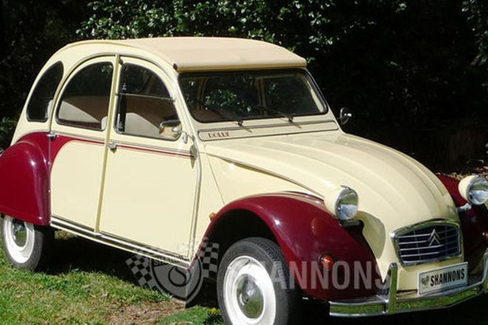 sold citroen 2cv dolly sedan rhd auctions lot 3 shannons. Black Bedroom Furniture Sets. Home Design Ideas