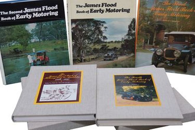 Motoring Books - Set of 4 James Flood Motoring Books (Vol. 1-4)
