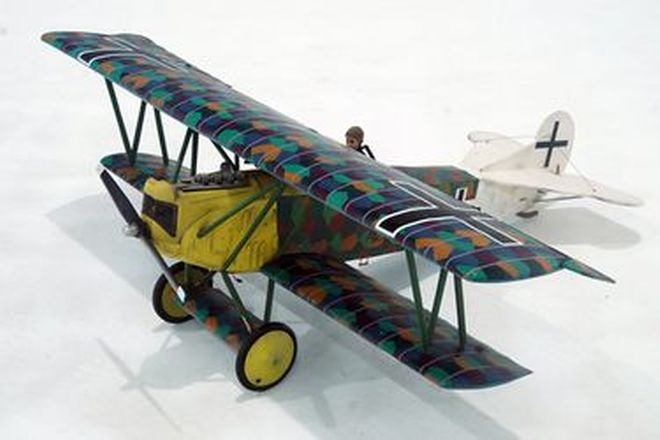 Model Plane - Fokker Scale WW1 War Bird (1.7m Wingspan)
