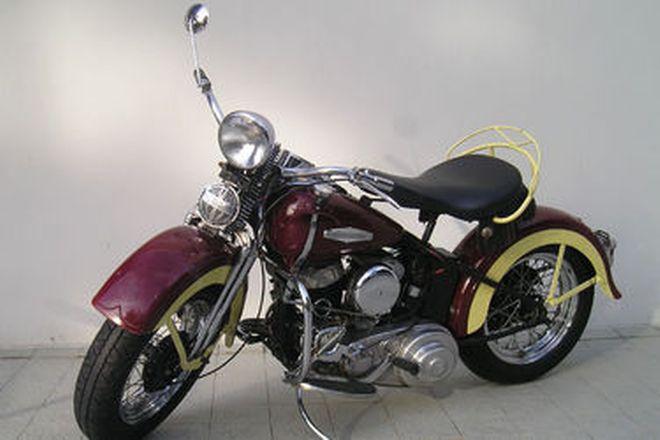 Harley-Davidson WLA Solo Motorcycle