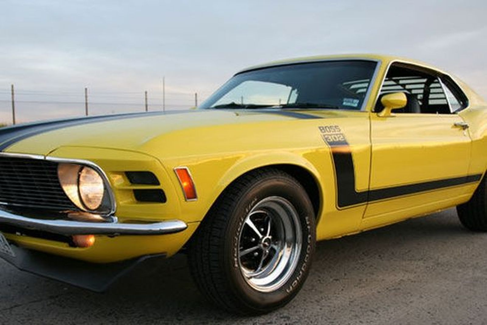 Ford Mustang Boss 302 Fastback (RHD)