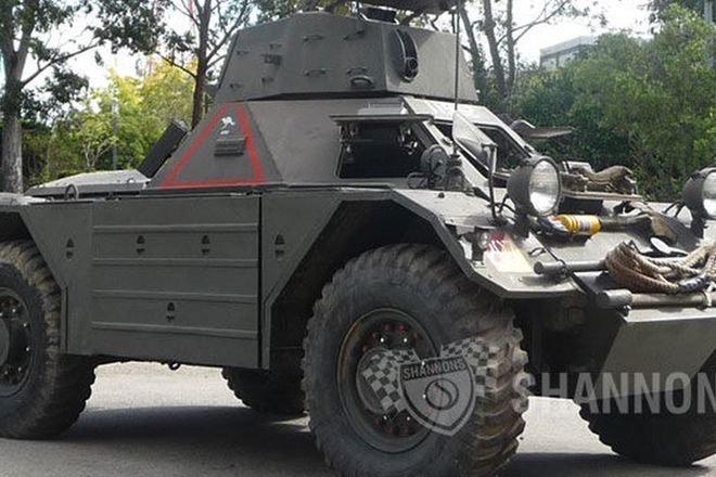 Ferret Scout Mk 2 Military Vehicle