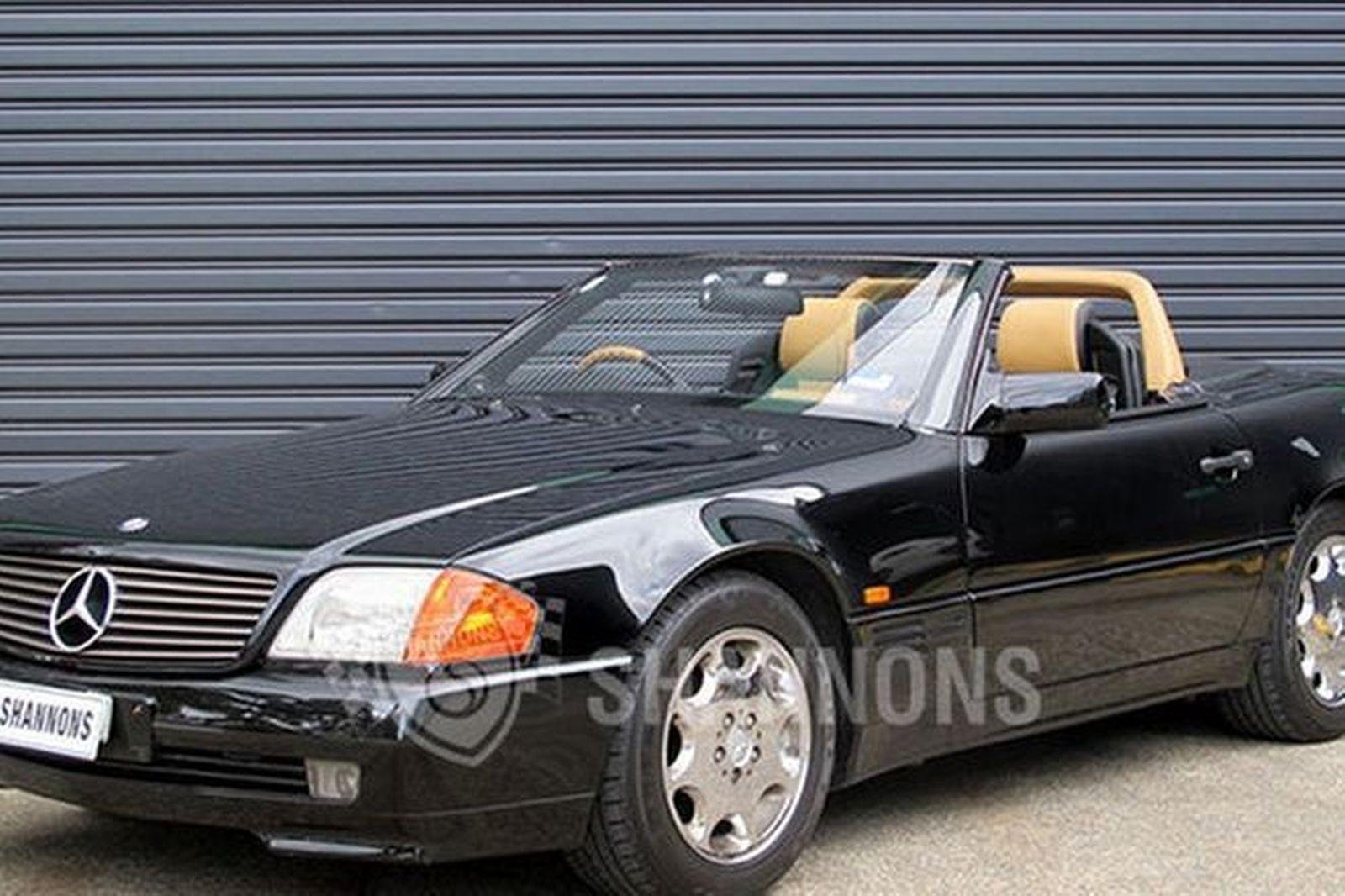sold mercedes benz 500sl convertible auctions lot 6 shannons. Black Bedroom Furniture Sets. Home Design Ideas
