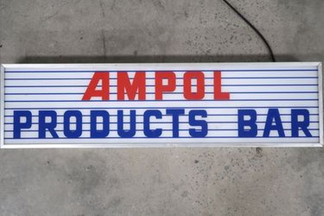 Light Box - AMPOL (95cm x 25cm)