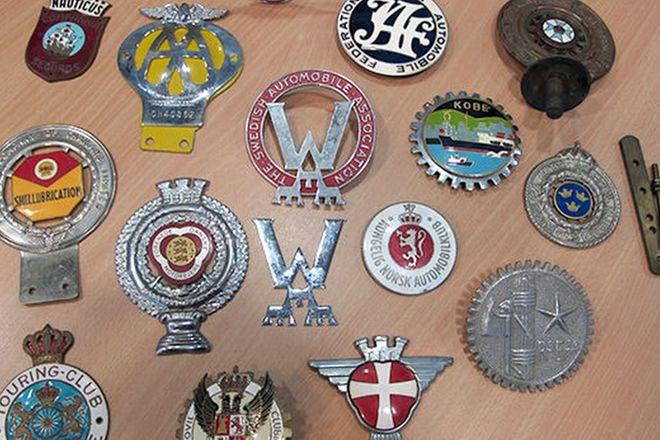 Badges - 16 x European Motor Club Badges