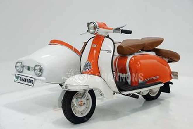 Lambretta 150cc Scooter with Side Car
