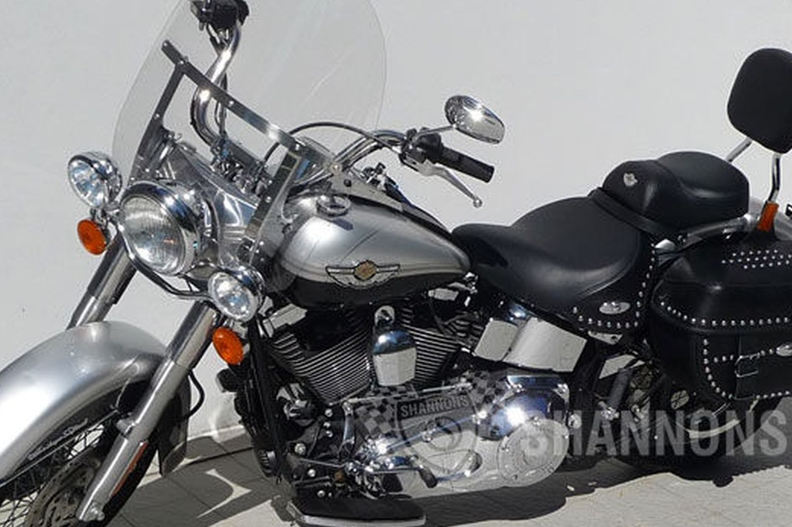 Harley-Davidson Heritage Softail '100th Anniversary' Motorcycle