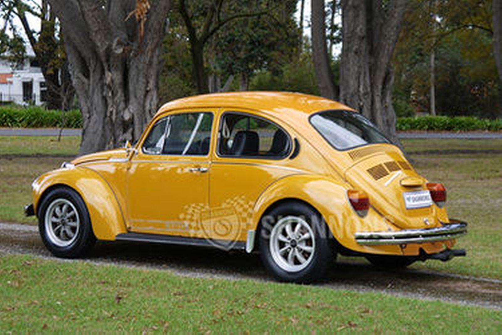 sold volkswagen beetle superbug  sedan auctions lot  shannons