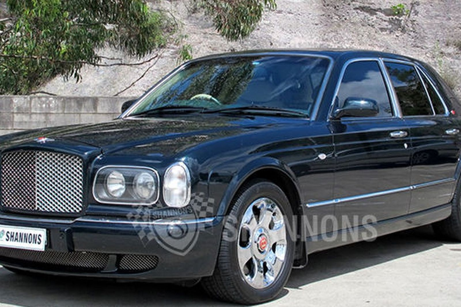 sold bentley arnage 39 red label 39 saloon auctions lot 26 shannons. Black Bedroom Furniture Sets. Home Design Ideas