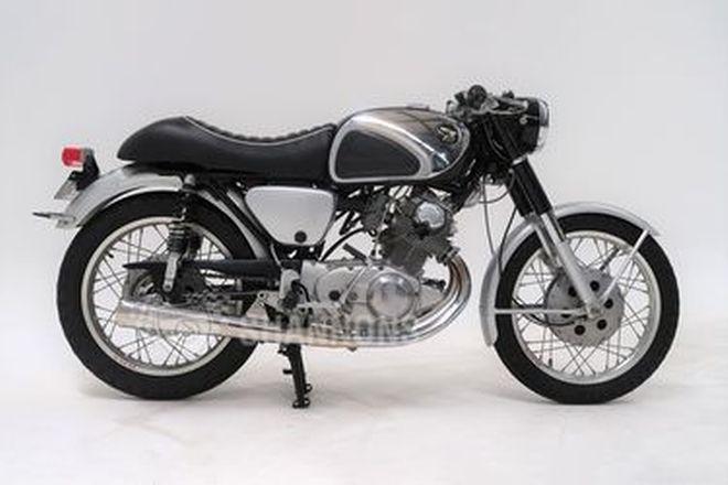 Honda CB77 Super Hawk Motorcycle