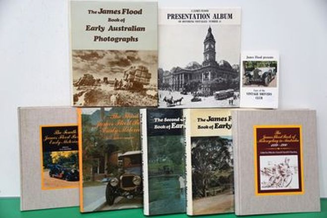 Motoring Books - James Flood Collection - Volumes 1-4