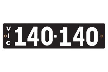 Victorian Heritage Plate '140.140'