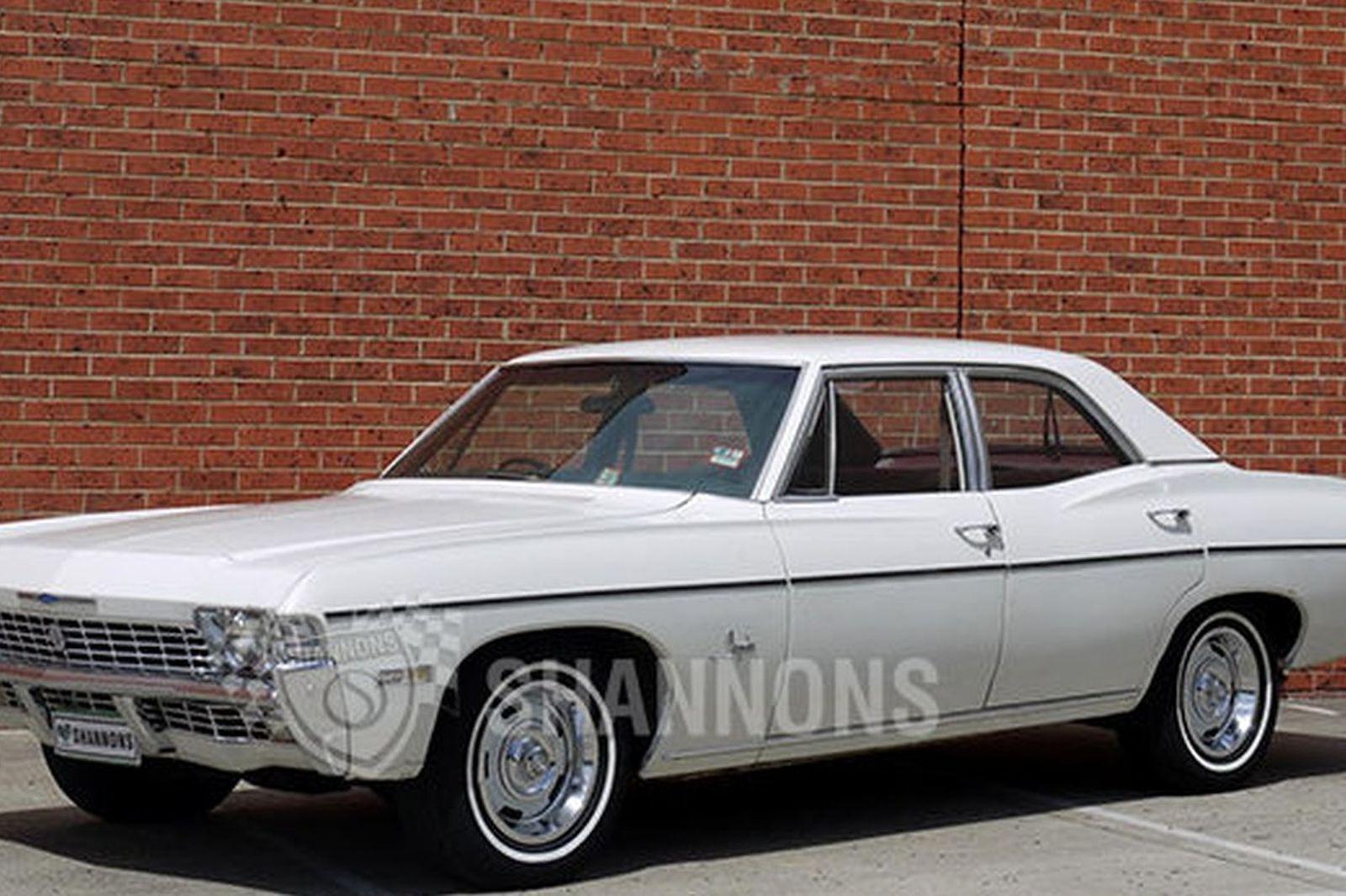 Sold Chevrolet Impala 4 Door Sedan Rhd Auctions Lot 35 Shannons