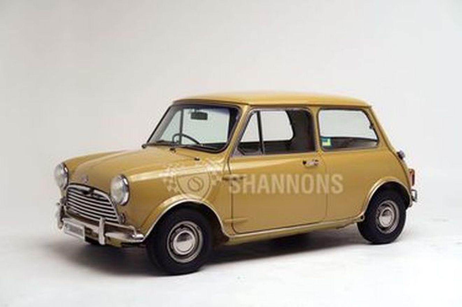 Morris Mini Cooper S MkII Saloon