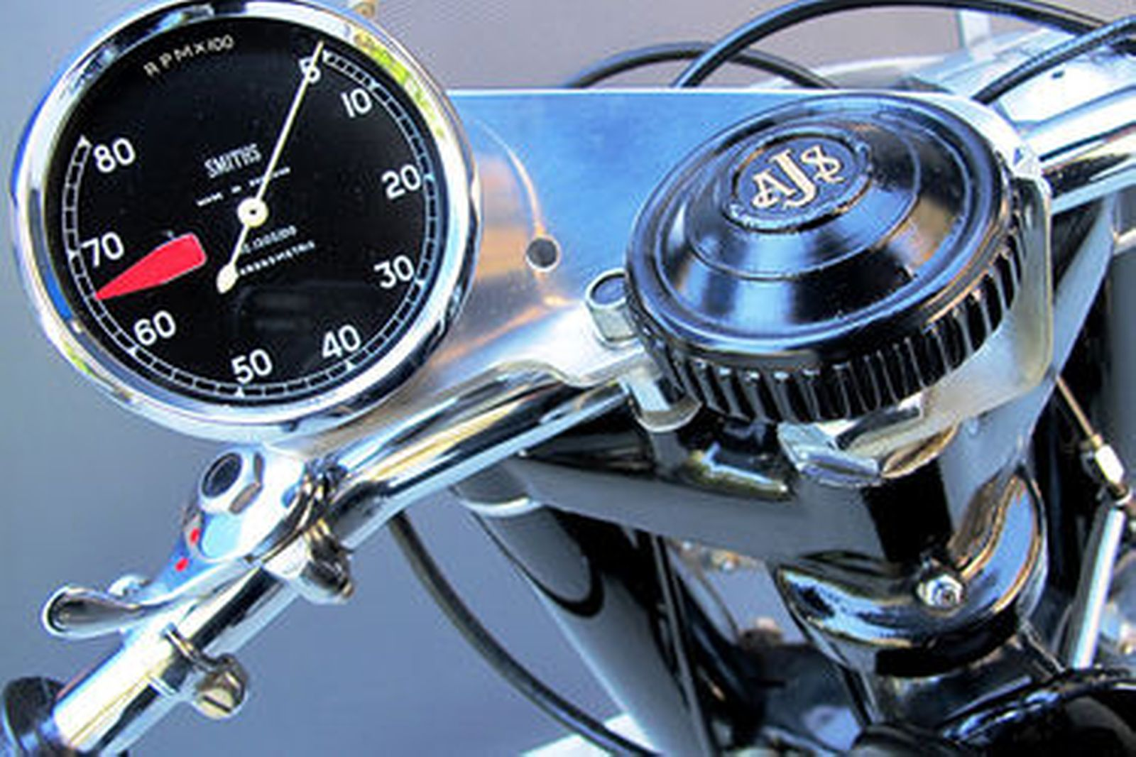 AJS 7R 350cc Racing Motorcycle