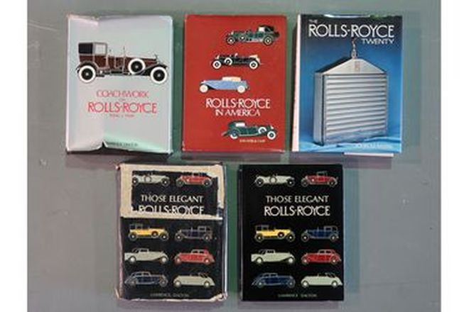 Books - Rolls-Royce Collection x 5