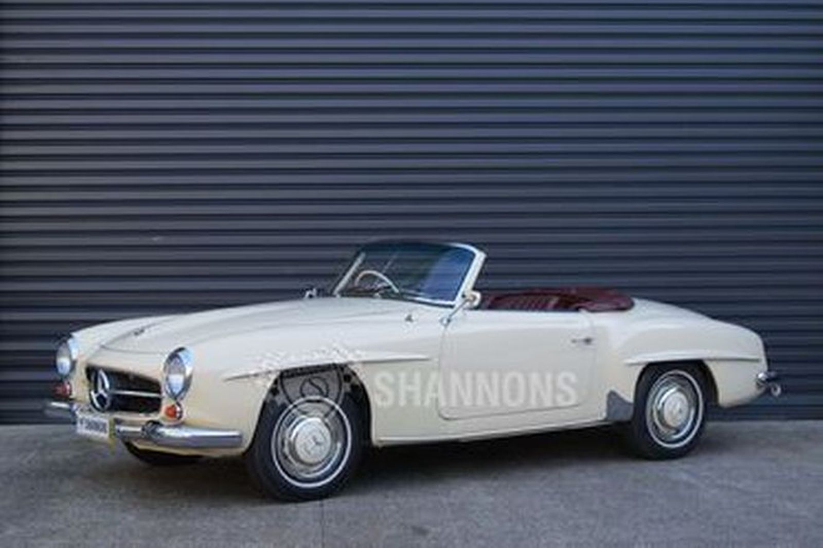 sold mercedes benz 190sl convertible auctions lot 20 shannons. Black Bedroom Furniture Sets. Home Design Ideas