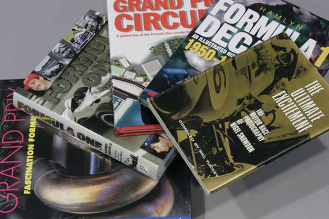 Books - 5 x Grand Prix Racing and Video of Tyrell History