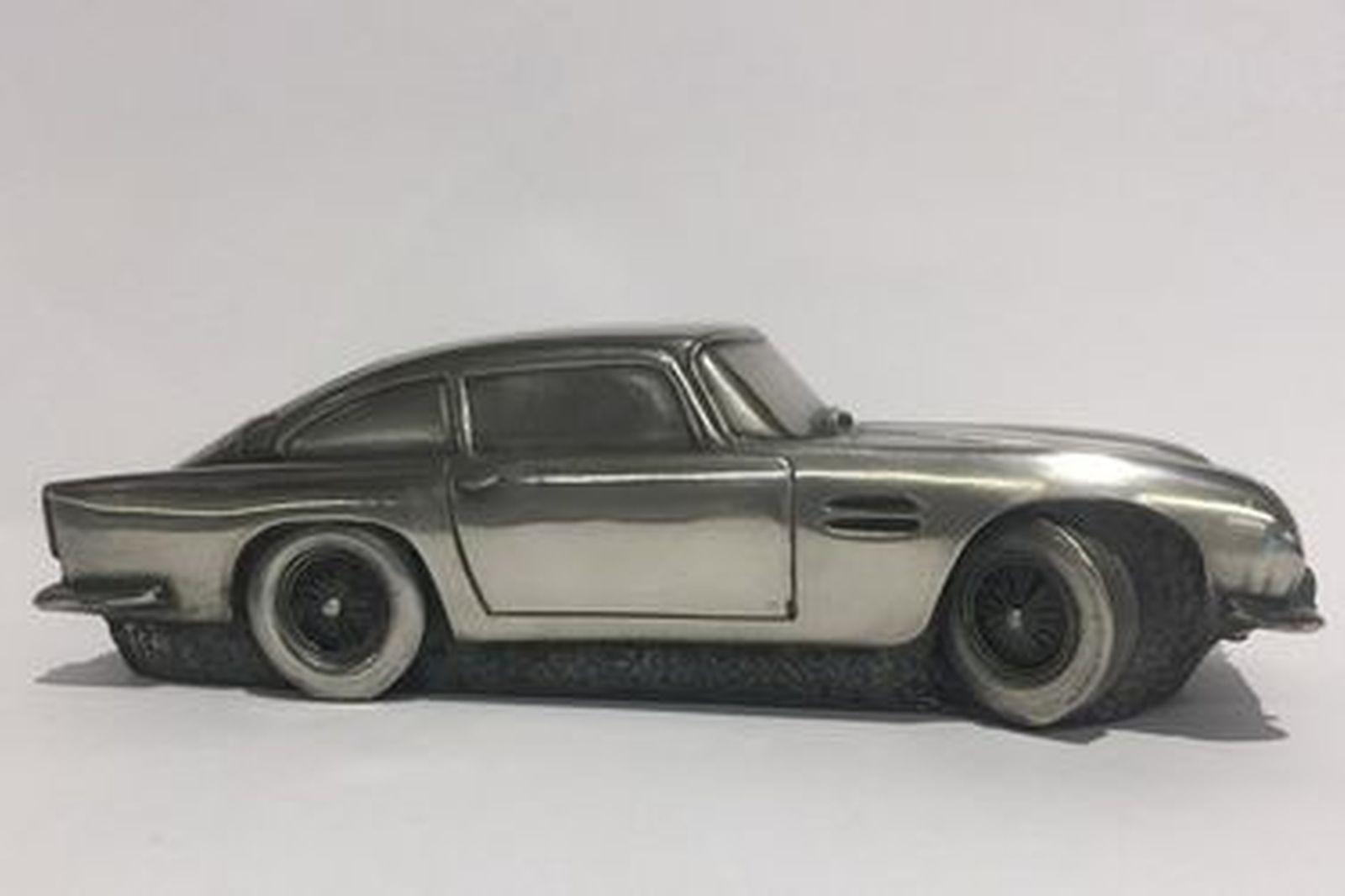 Pewter Model Car - Aston Martin