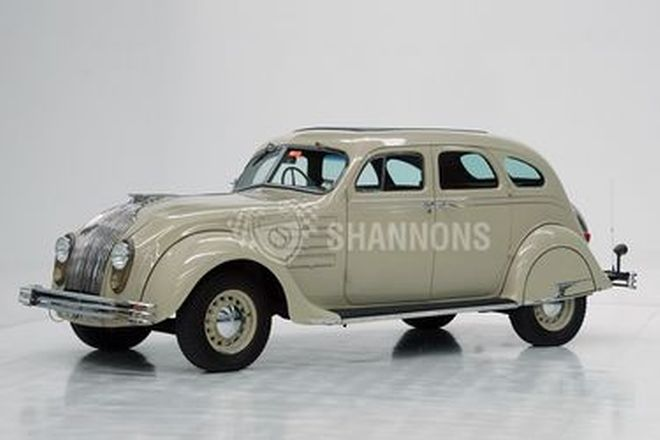 Chrysler Airflow CU 'Eight' 4dr Sedan