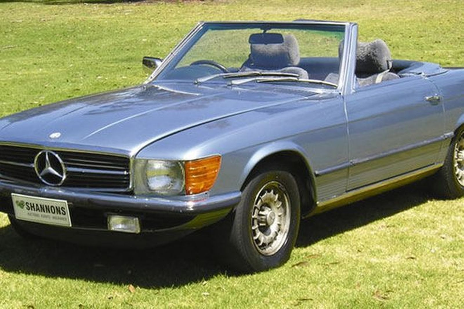 Sold mercedes benz 450sl convertible auctions lot 72 for Mercedes benz 450 sl