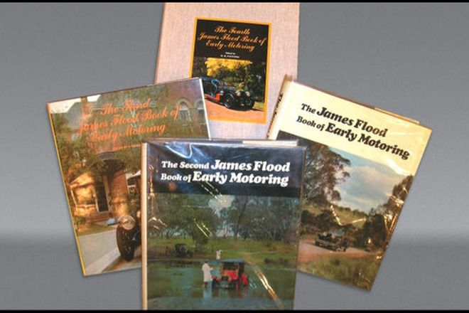 4x James Flood Books of Early Motoring (Nos.1 - 4)