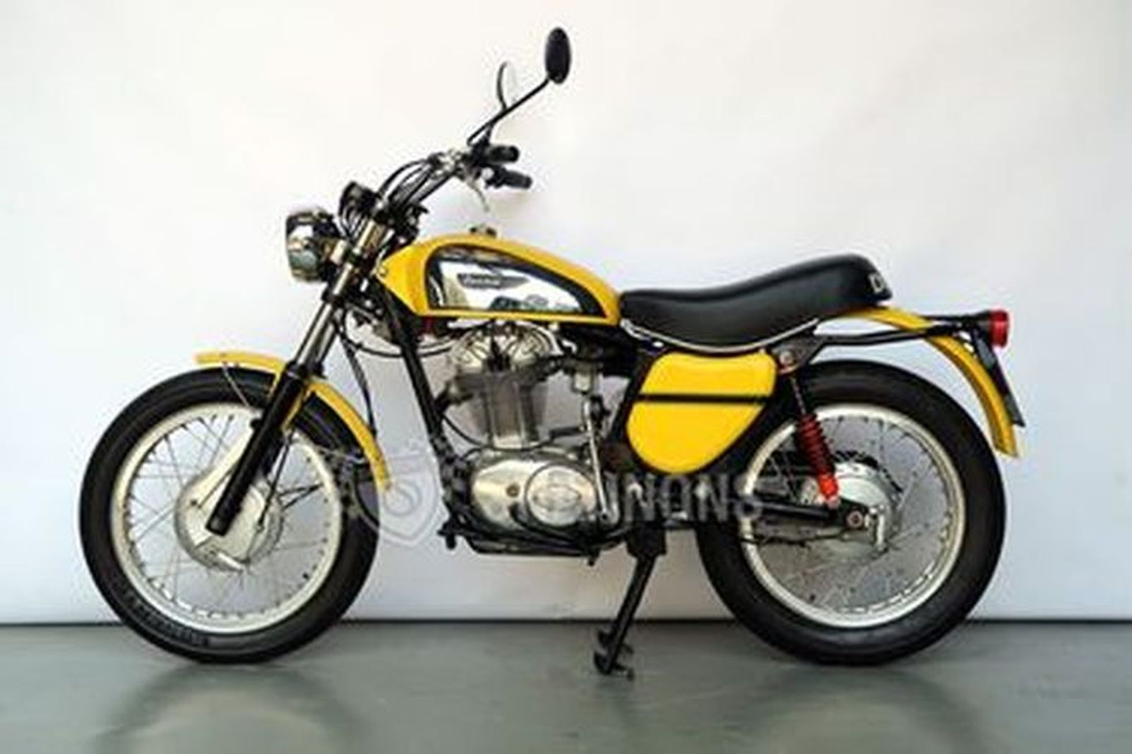 Ducati 450 Scrambler Motorcycle