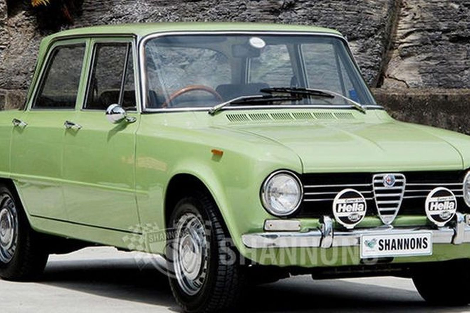 Sold Alfa Romeo Giulia Super Sedan Auctions Lot Shannons - Alfa romeo giulia 1972